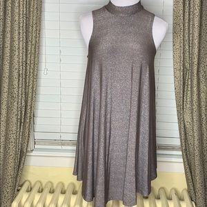 NWT By Together bronze metallic dress SMALL